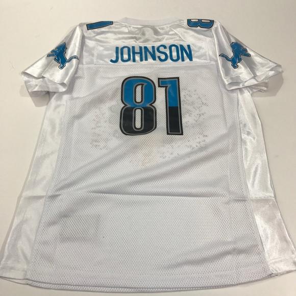 41a320e1 Detroit Lions NFL Jersey Johnson Kids Youth XL NWT